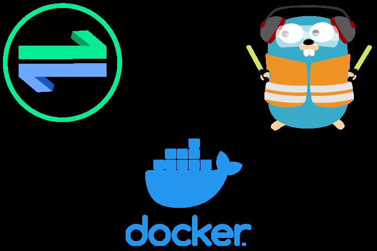 OAuth2 Proxy, Traefik and Docker logos.